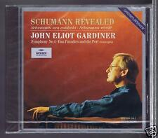 JE GARDINER CD PROMO  NEW / SCHUMANN REVEALED/ SYMPHONY 4/ THE MONTEVERDI CHOIR