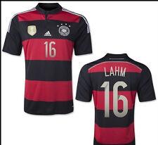 Adidas DFB Auswärtstrikot Weltmeister 2014 XL LAHM 4 Sterne