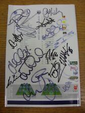 04/05/2008 Autographed Programme: Queens Park Rangers v West Bromwich Albion - H