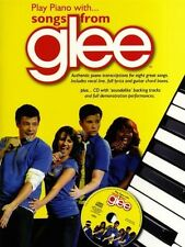 Play Piano With Songs From Glee Piano Solo Book Plus Cd - New Book Various