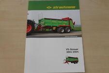 158472) Strautmann Universalstreuer VS-Streuer 1604-2004 Prospekt 08/2014