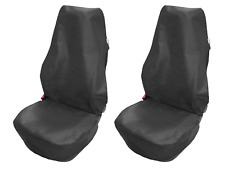 2 x Werkstattschoner Schonbezug Sitzschoner Sitzbezug Universal Schwarz Monteur