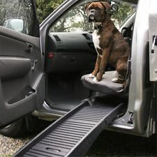New Plastic Lightweight Bi-Fold Travel Transport Car Ramp for Dogs