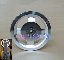 Universal Aluminium alloy Bearing Pulley Wheel Cable Gym Equipment Part od 114mm