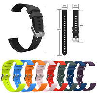 Silicone Band Strap for Garmin Vivoactive 3/3 Music Forerunner 245/645 Huawei 2