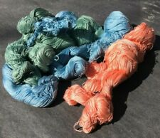 5 skeins of vintage embroidery/fine crochet cotton- pure cotton