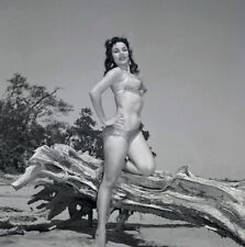 Bunny Yeager Pinup Camera Negative 1950s Bikini Model Crandon Park Chris Mara NR