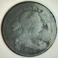 1803 Draped Bust Copper Large Cent Early US Penny Type Coin You Grade it 1c