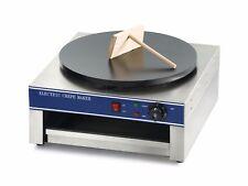 Single Plate Crepe Maker Pancake Machine Commercial Electric 40cm Diameter