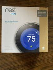 Nest Learning Thermostat 3rd Gen T3008US - Stainless Steel PRO Version