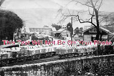 CO 220 - Fowey Railway Station, Cornwall - 6x4 Photo