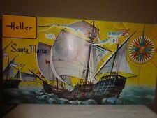Heller SANTA-MARIA Plastic Model Ship Boat Kit