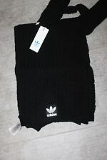 Adidas Women's schalset Scarf + Gloves Black NEW WITH TAG