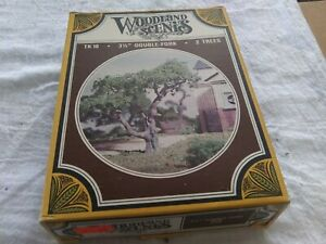 "Woodland Scenics  HO Scale TK 18 3 1/2"" Double Fork 2 Trees Kit"
