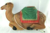 "Vintage Empire 28"" Christmas Nativity Manger Camel Blow Mold Lighted GeneralFoam"