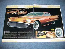 """1959 Ford Thunderbird Full Custom Article """"Australia's Wildest Kustom!"""""""