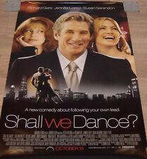 Shall We Dance Movie Poster (2004) - Original - SS - 27x40 - REG - Richard Gere