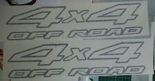 Nissan Navara D22 4x4 Off Road sticker / decal set Black or choose a colour.