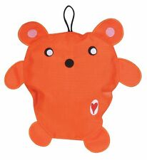 """HUGGLEHOUNDS 10"""" ORANGE BEAR SPORT EDITION DURABLE DOG TOY. FREE SHIP TO THE USA"""