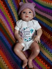 Baby Girl Reborn Doll With Silcone Body Used Cost £120 Great Detailing (26)