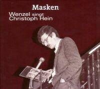 HANS-ECKARDT WENZEL - MASKEN-WENZEL SINGT CHRISTOPH HEIN  CD NEU