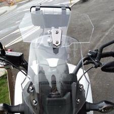 Adjustable ClipOn Windshield Extension Spoiler Wind Deflector For Motorcycle