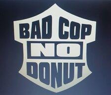 Bad cop no doughnut funny decal Window decal vinyl decal