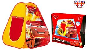 Disney Cars Pixar POP UP Play Tent,k Children Tent(95X85X85cm)Official Licensed