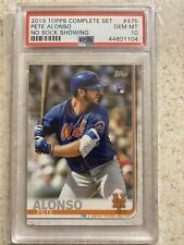 2019 Topps Pete Alonso Rc PSA 10
