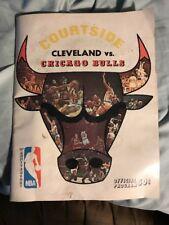 1970 - 1971 Chicago Bulls vs. Cleveland Cavaliers Program 2/14/71