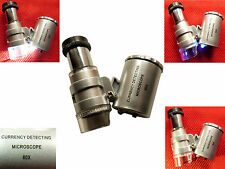 60x Mini Mikroskop Lupe Taschenlupe Schmucklupe Juwelierlupe vergrößerungs Lupe