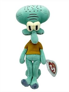 Ty Beanie Baby Squidward Tentacles Spongebob Squarepants Plush Retired New