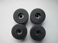 """4 x Rubber Feet 40mm x 25mm / 1.57"""" X 1"""" With steel washers."""
