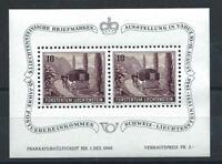 Liechtenstein Bloc N°7** (MNH) 1946 - 4éme Exposition philatélique de Vaduz