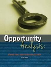 Opportunity Analysis : Business Ideas, Identification and Evaluatin (2013,...
