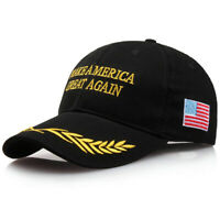 President Donald Trump Hat Make America Great Again Hat US MAGA Cap Black Olive