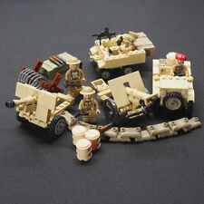 WWII British Battle Set - Compatible with Lego - Army Military Minifigs Soldiers