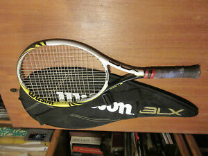 Wilson 2 x Recon Lite BLX Badminton Rackets with Carry Cases 6 Shuttles RRP /£350