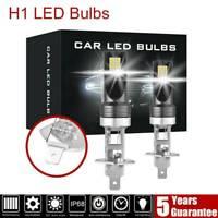 2X H1 200W 12000LM LED Car Fog Headlight Conversion Globes Bulbs Beam LD2004