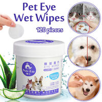120 Pieces Pet Eye Wet  Dog Cat Tear Stain Remover Pet Eye Grooming