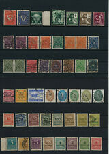 Germany, Deutsches Reich, Nazi, liquidation collection, stamps, Lot,used (TZ 25)