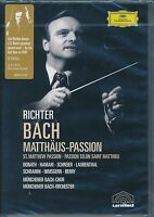 Richter BACH Matthus-Passion DVD NEW