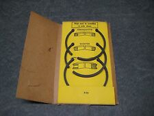 CLINTON Engine 25023 Piston Ring Set OEM closeout vintage New old stock