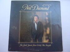 Neil Diamond ‎– I'm Glad You're Here With Me Tonight LP