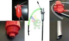 Pompa manuale a stantuffo  60lt/min per fusti travaso gasolio olio nafta