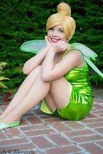 Tinkerbell Costume Adult Lined Size Small-medium  Great For Halloween Or Parties