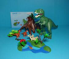 Playmobil Dinosaurier Expedition~T-Rex & Velociraptoren/Raptors(4171)& Anleitung