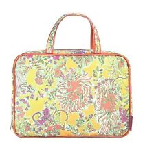 Lilly Pulitzer Weekender Happy Place Makeup Bag Cosmetic Travel Case NWT