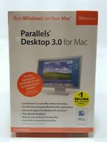 Parallels Desktop 3.0 For Mac Software New Sealed Windows Mac OS X SWSoft