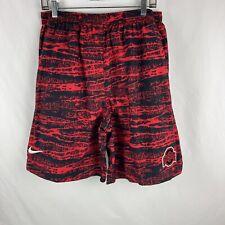 Nike Men's Ohio State Buckeyes OSU Size XL Red Black